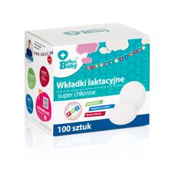Obrazek PlusBaby Wkładki laktacyjne 100 szt.