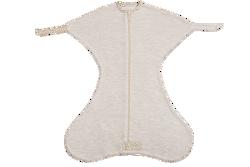 Obrazek Otulacz wiązany Medbest NIUNIU 0-3 m - beżowy XS (2,5-5,5 kg)
