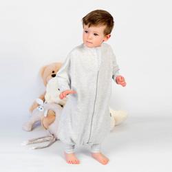 Obrazek Piżama dziecięca Medbest NIUNIU szary 1-2 lata