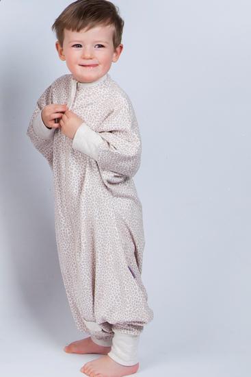 Obrazek Piżama dziecięca Medbest NIUNIU beżowy 1-2 lata