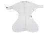 Obrazek Otulacz wiązany Medbest NIUNIU 0-3 m - szary S (5,5-9,00 kg)