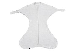 Obrazek Otulacz wiązany Medbest NIUNIU 0-3 m - szary XS/S (5,5-9,00 kg)
