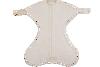Obrazek Otulacz wiązany Medbest NIUNIU 0-3 m - beżowy S (5,5-9,00 kg)