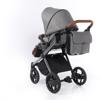 Obrazek Invictus V-Plus wózek 02 grafit/brąz + GRATIS