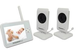 Obrazek Elektroniczna niania BabySense Video V35 z 2 kamerami