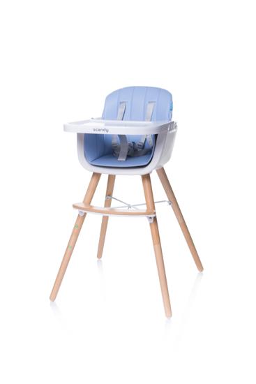 Obrazek Krzesełko SCANDI Blue