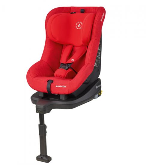 Obrazek TobiFix Nomad Red fotelik 9 – 18 kg