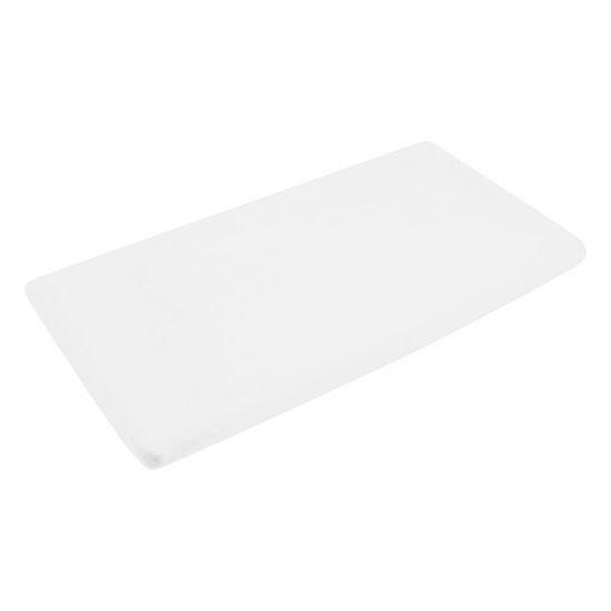Obrazek PlusBaby Prześcieradło bawełniane z gumką 120x60 białe
