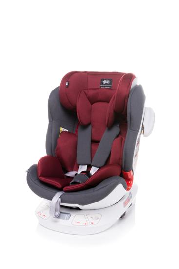 Obrazek Fotel obrotowy Space-Fix  0-36 kg -red
