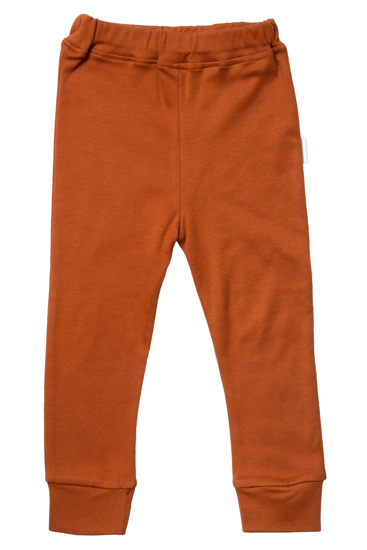 Obrazek Legginsy/Spodnie ze ściągaczem La Natura cynamonowy