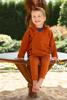 Obrazek Legginsy/Spodnie ze ściągaczem La Natura granatowy