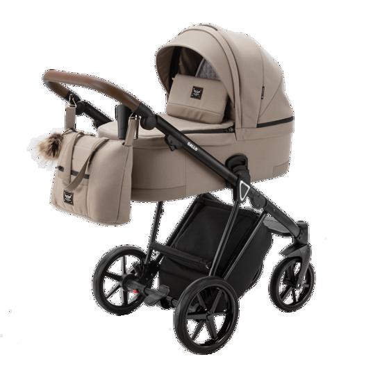 Obrazek GALLO GA-7 CAPPUCCINO wózek dziecięcy