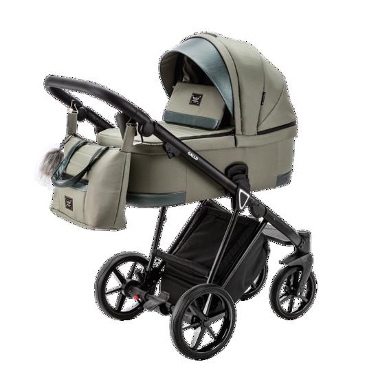 Obrazek GALLO GA-14 OLIVE wózek dziecięcy
