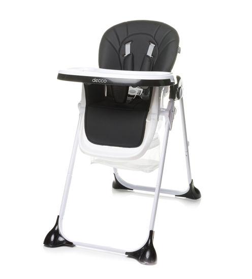 Obrazek Krzesełko do karmienia Decco black